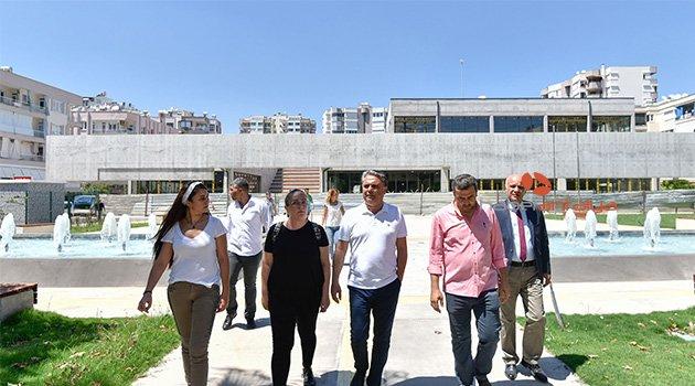 Kültür merkezi mimarisiyle dikkat çekiyor