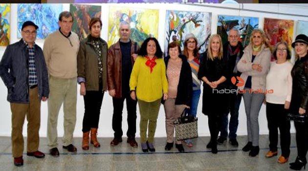 Kuzgun'un 8'inci sergisi açıldı