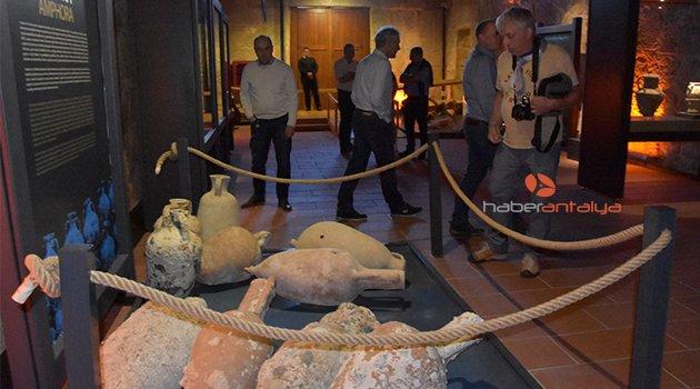 Likya Müzesi'ne yoğun ilgi