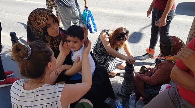 3 yaşındaki çocuk ve teyzesi ölümden döndü