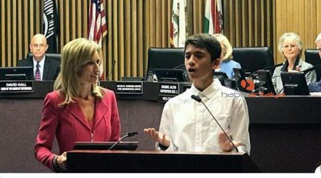 ABD, 13 yaşındaki Türk'ü konuşuyor