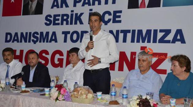 Ak Parti Danışma Kurulu toplantısı yapıldı