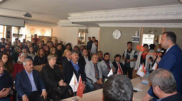 Ak Parti İl Başkanı Taş, Korkuteli'nde partisinin İstişare Toplantısına katıldı