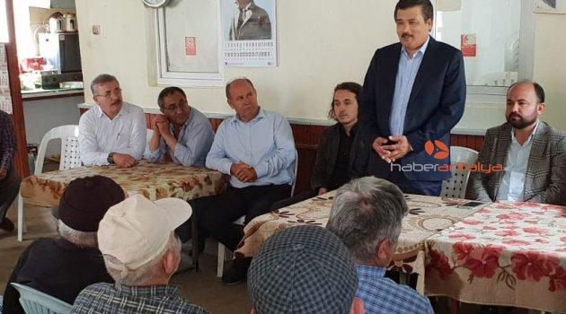 AK Partili Çelik'in seçim çalışmaları