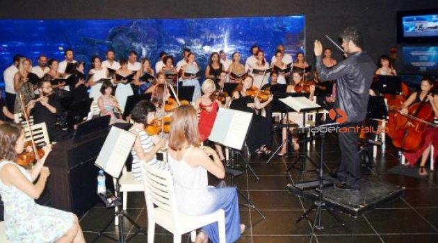 Akvaryum'da opera konseri