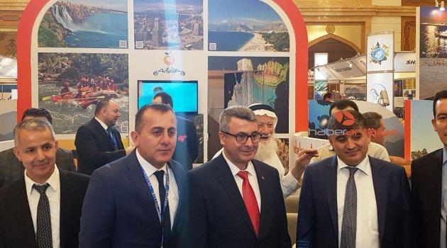 Antalya, 8. Uluslararası Cidde Seyahat ve Turizm Fuarı'nda tanıtıldı