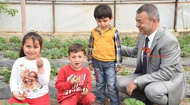Antalya'da çocuklar tarımı öğrenecek