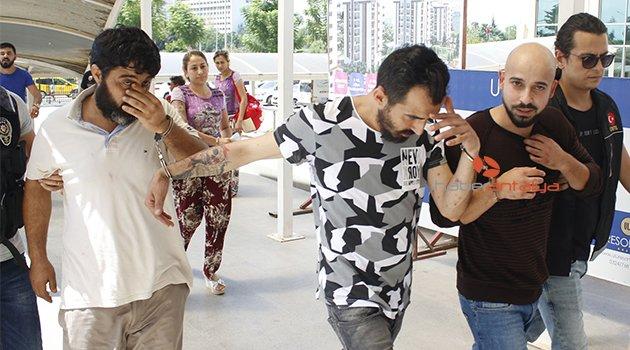 Antalya'da uyuşturucu operasyonu: 1'i kadın 4 gözaltı