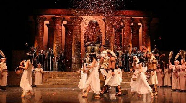Antalya DOB 'Aida'yı sahneliyor