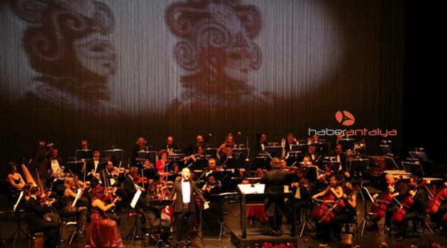 Antalya DOB'tan 'Yeni Yıl Konseri'