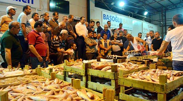 Antalya'da balık sezonu açıldı