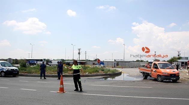 Antalya'da iki kazada; 2 ölü, 3 yaralı