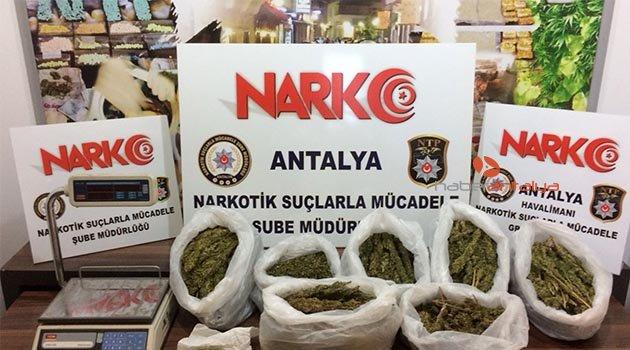 Antalya'da zehir satıcılarına darbe