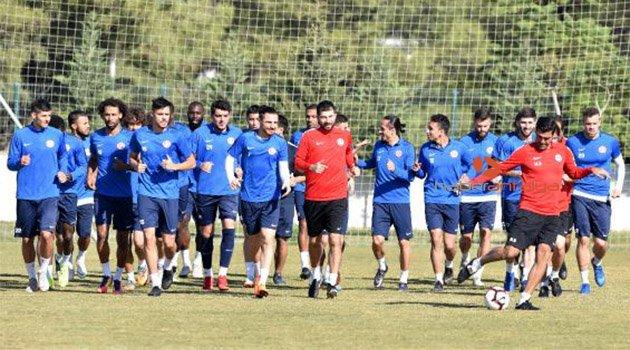 Antalyaspor, Akhisarspor hazırlığına devam etti