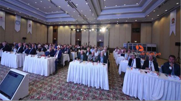 Avrupa Futbol Antrenörleri Dernekleri Birliği Antalya'da toplandı
