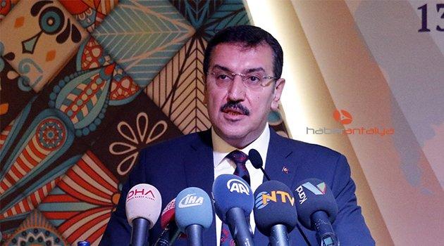 """Bakan Tüfenkci: """"ICPEN'e büyük önem veriyoruz"""""""