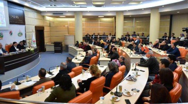 Başkan Tütüncü, projelerini anlattı