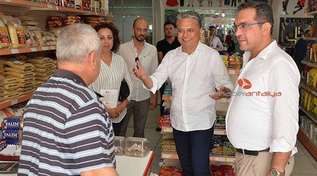 Başkan Uysal Alanya'da