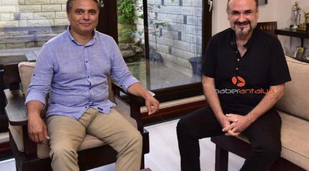 Başkan Uysal'dan Hakan Aysev'e ziyaret