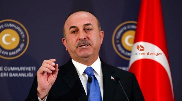 Çavuşoğlu: Rejim Afrin'e PKK ve YPG'yi temizlemek için giriyorsa, sorun yok
