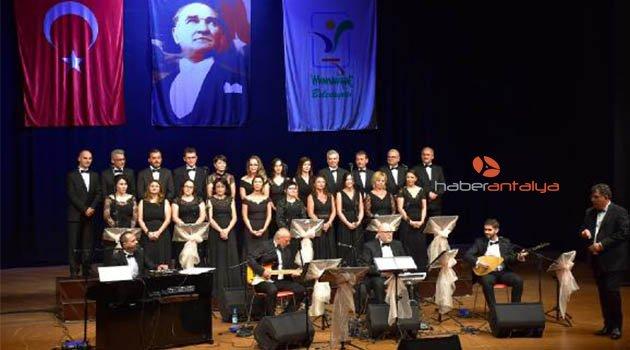 Chor Anatolia'dan Manavgat'ta konser