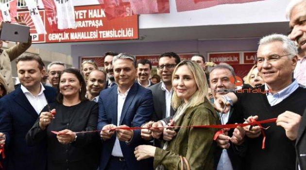 CHP'nin mahalle temsilciliği açıldı