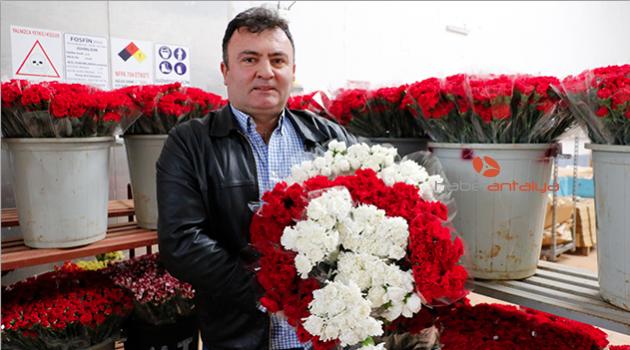 Çiçek sektörüne Noel ve yılbaşı dopingi