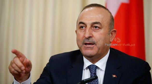 Dışişleri Bakanı Mevlüt Çavuşoğlu'ndan mülteci açıklaması