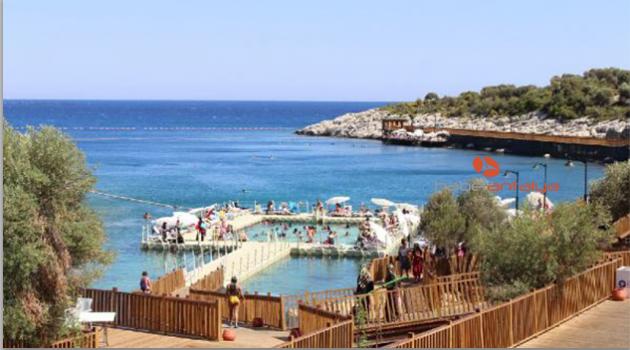 Finike Kadınlar Plajı rekor kırıyor
