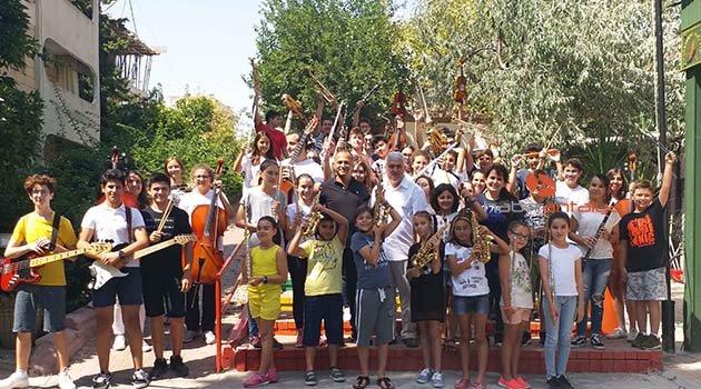 Gençlik Orkestrası'nın konuğu Akdeniz Üniversitesi'nden