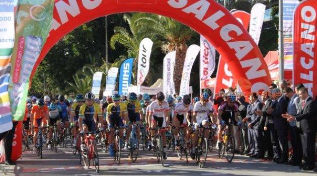 Grand Prix Alanya 1.2 Elit Erkekler Yol Bisikleti Yarışı yapıldı