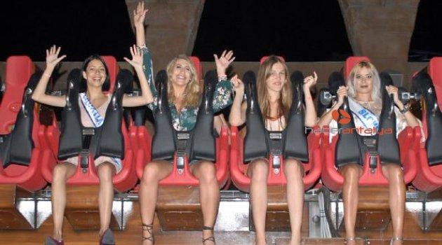 'Hyper Coaster' kraliçe adaylarını korkuttu