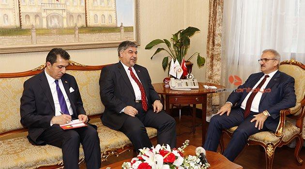 Irak Büyükelçisi: Antalya ile 30 milyon dolarlık ticaret hacmi çok az