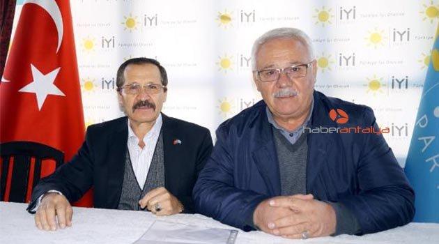 İYİ Parti Finike'ye İsmet Çetin atandı