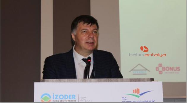 İZODER'in yedinci semineri Antalya'da