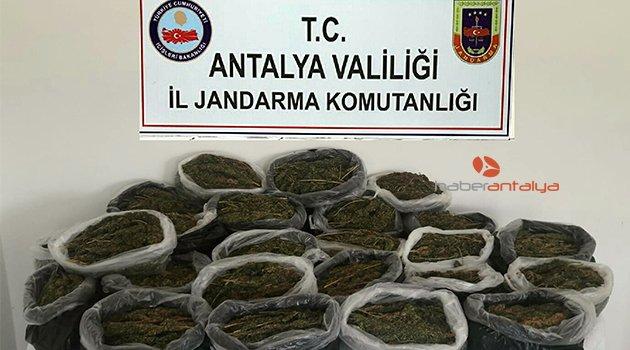 Kamyonetten 15 kilo uyuşturucu çıktı