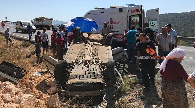 Kaş'ta kaza: 2 yaralı