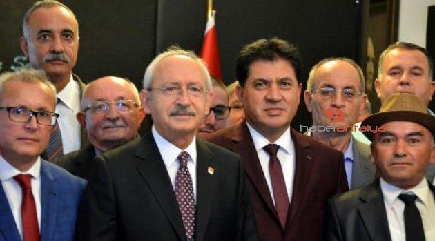 Kemer heyetinden Kılıçdaroğlu'na ziyaret
