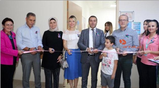 Kemer'de Kanser Tarama Merkezi açıldı