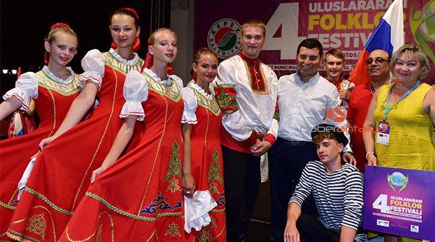 Kepez'in Uluslararası festivaline muhteşem gala