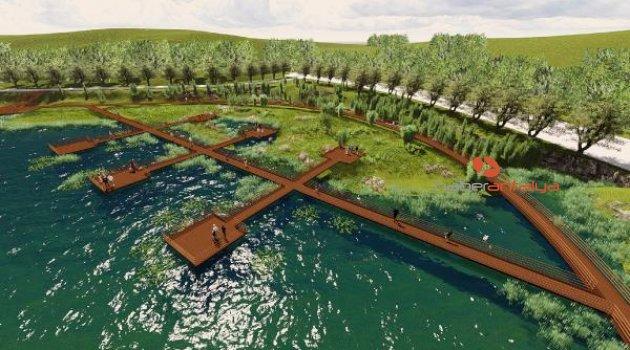 Kırkgöz Gölü'ne yaşam vadisi yapılacak