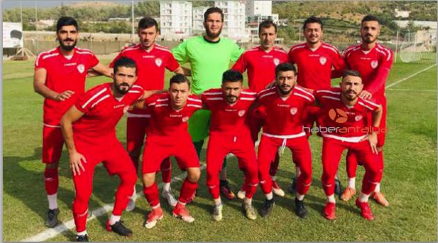 Kumluca'dan Manavgat'a 5 gol