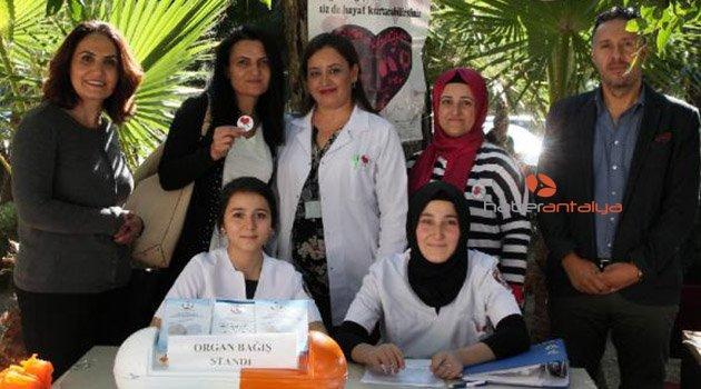 Manavgat'ta 150 organ bağışı