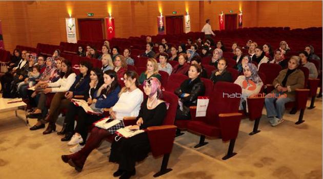 Manavgat'ta 'meme sağlığı' semineri