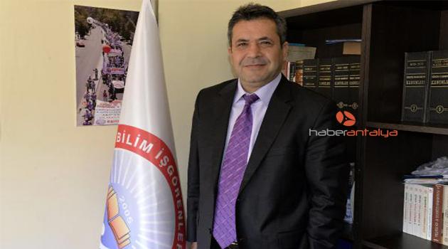 Mehmet Balık Konyaaltı'na aday adayı
