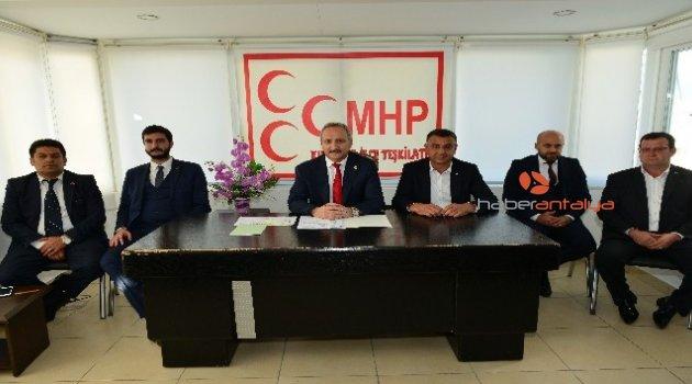 MHP Genel Başkan Yardımcısı Yurdakul'dan partiden ayrılanlara çağrı