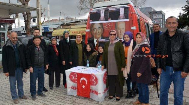 MHP'den imza kampanyası