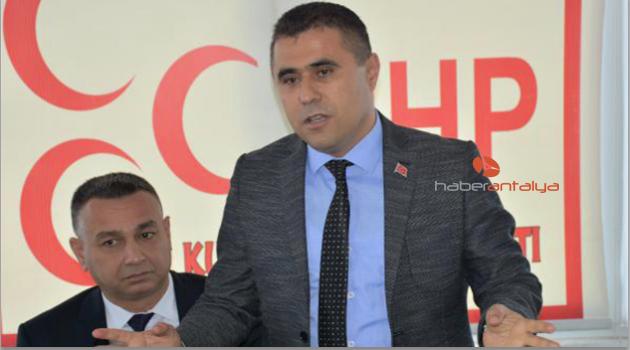 MHP'nin Kumluca adayı Hüseyin Orhantekin
