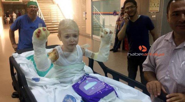 Mucize çocuğa 31'inci ameliyat