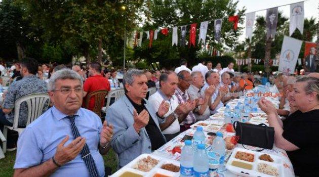 Muratpaşa, Meltem'de iftar verdi